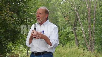 Dave Loebsack At Labor Day Picnic In Burlington, IA
