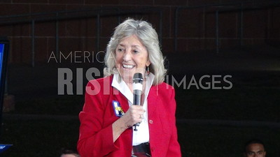 Dina Titus At Hillary Clinton GOTV Event In Las Vegas, NV