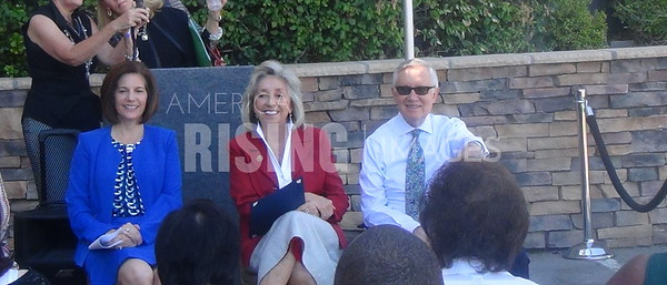 Dina Titus At FirstMed Clinic Opening Press Conference With Harry Reid And Catherine Cortez Masto In Las Vegas, NV