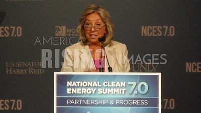 Dina Titus At National Clean Energy Summit In Las Vegas, NV