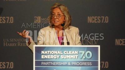 Dina Titus At National Clean Energy Summit In Las Vegas, NV