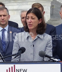 Elaine Luria at New Democrat Coalition Presser in Washington, DC