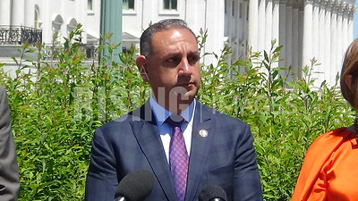 Gil Cisneros at Servicewomen and Women Veterans Caucus Launch in Washington, DC