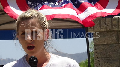 Katie Hill At Families Belong Together CA25 Unity BBQ In Stevenson Ranch, CA
