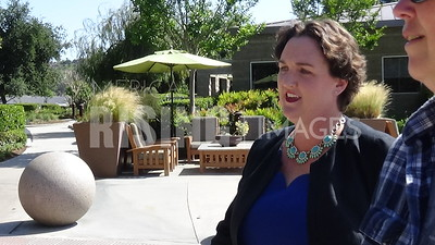 Katie Porter At Town Hall In Mission Viejo, CA