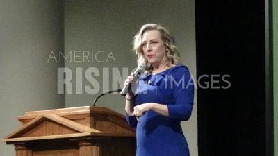 Kendra Horn at UCO Speaker Series in Edmond, OK