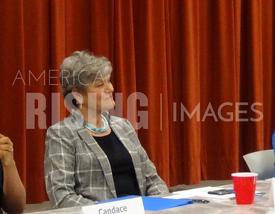 Kim Olson at Candidate Forum in Grapevine, TX