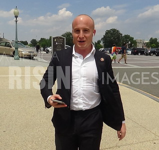 Max Rose Walking around Capitol Building In Washington, DC