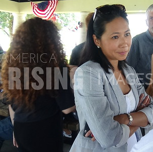 Stephanie Murphy At Seminole Democrats Labor Day Picnic In Sanford, FL
