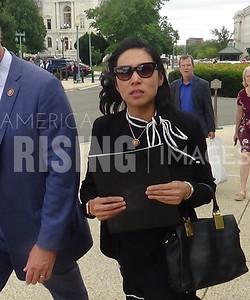 Stephanie Murphy at Capitol Hill Sidewalk in Washington, DC