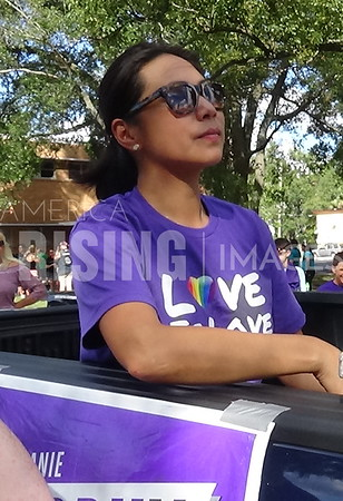 Stephanie Murphy At Orlando Pride Parade In Orlando, FL