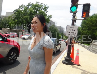 Stephanie Murphy on Capitol Hill Sidewalk in Washington, DC