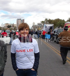 Susie Lee At MLK Parade In Las Vegas, NV