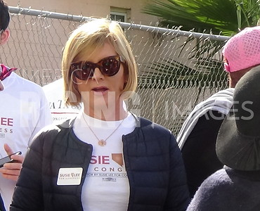 Susie Lee At Martin Luther King, Jr Day Parade In Las Vegas, NV