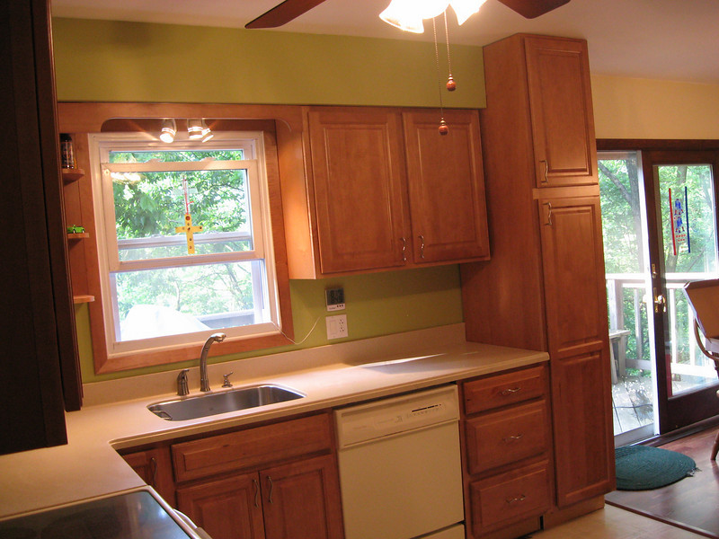 More countertop space than the old kitchen.