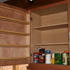Made spice rack for the cabinet door