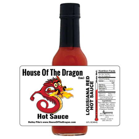 House Of The Dragon Hot Sauce | And It Is Hot!!