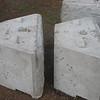 Close up of base blocks.