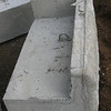 Right corner shelf block  The real beauty of this system is that one can backfill right up to the edge of the ledge.