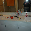 Before Master Bath Sinks