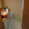 Boy's Bathroom, Before ripping out carpet!