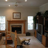 Family Room.  Front left corner is the breakfast nook.