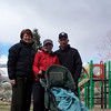 Another day we took Elliott for his first trip to the park - one of 3 within walking distance of the house.