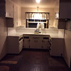 This how dark and small the original kitchen was!