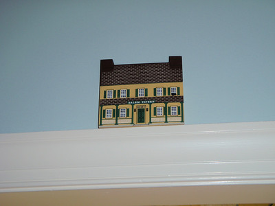"""Flat"" historic Salem buildings from Martha Gomer.  This is theSalem Tavern in Old Salem."