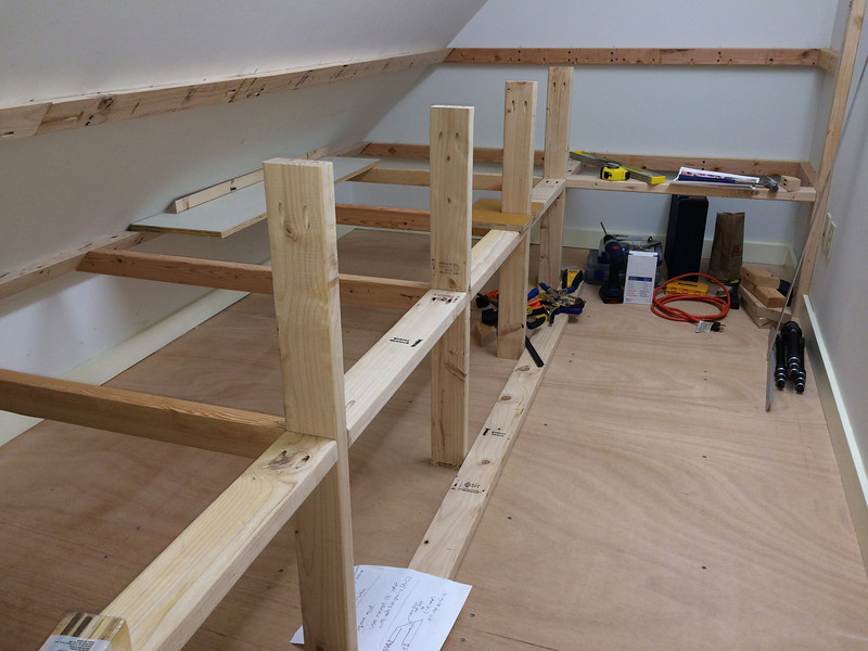 Shelves Underway