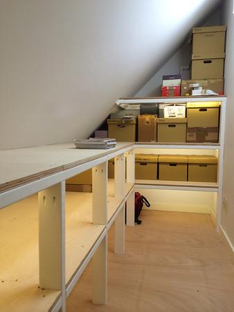 Attic Shelves