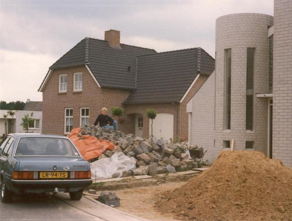 porphyry pavement materials (Sept.1991, building my house)
