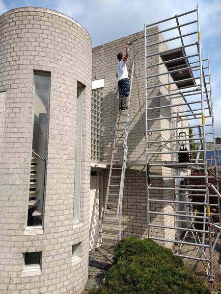 August, 2021, refurbishment  exterior house