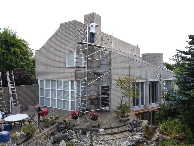 2021, summer, refurbishment  exterior house                                                                    by Robert v.d. Wetering Schilderwerken, Son