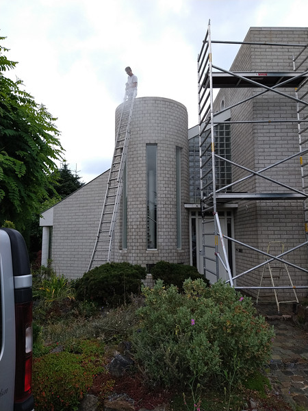 refurbishment  exterior house