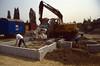 preparations before groundinsulation activities (building my house)