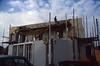 temporary platform for casting the concreet beam (building my house)