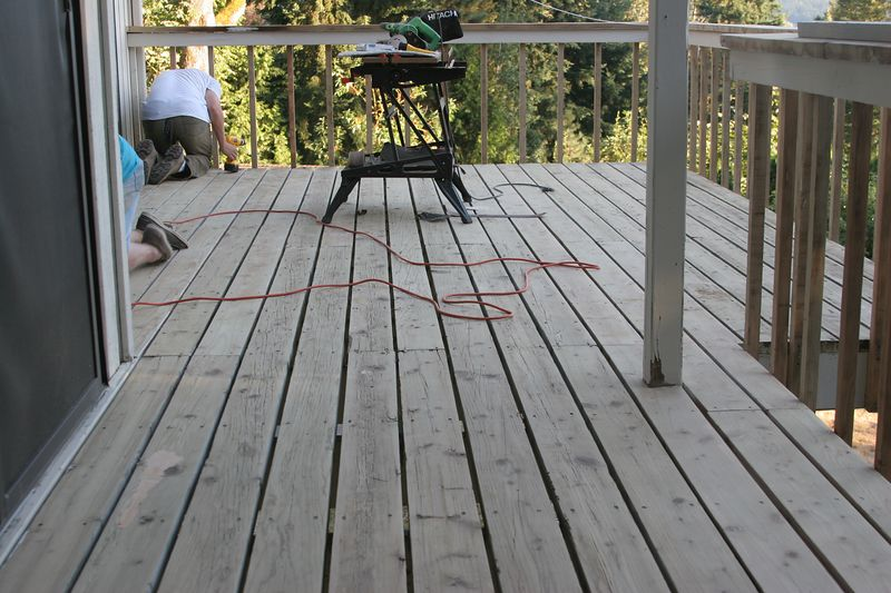 More of the deck surface.