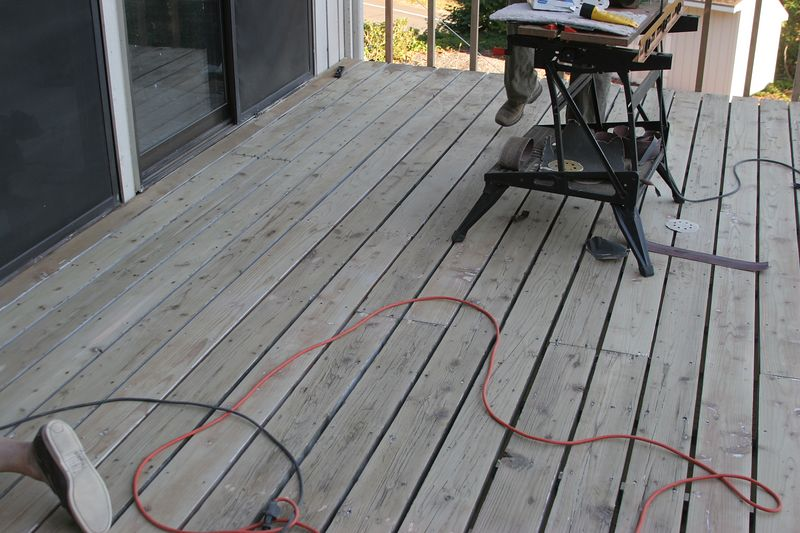 Even more of the deck surface.