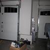 empty random corner in the garage that was in the way.