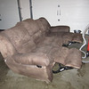 free possibly garage bound sofa for lounging