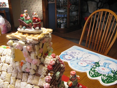 Gingerbread House - 12/5/2008