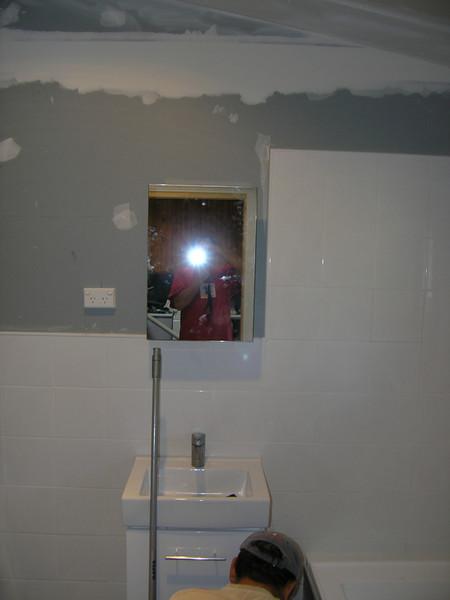 Shaving cabinet