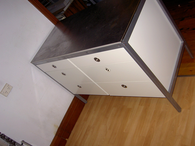 Ikea Udden cabinet completes the makeover