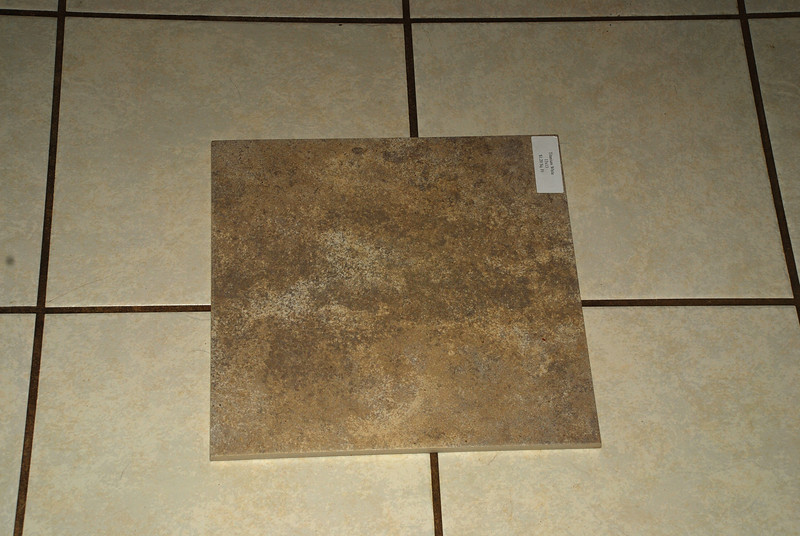 Kitchen remodel--items chosen.  This tile will be on the floor and the backsplash.