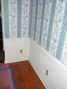 The old refrigerator that was stored in the Dining Room goes to a new home!