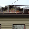 New railing on the deck.