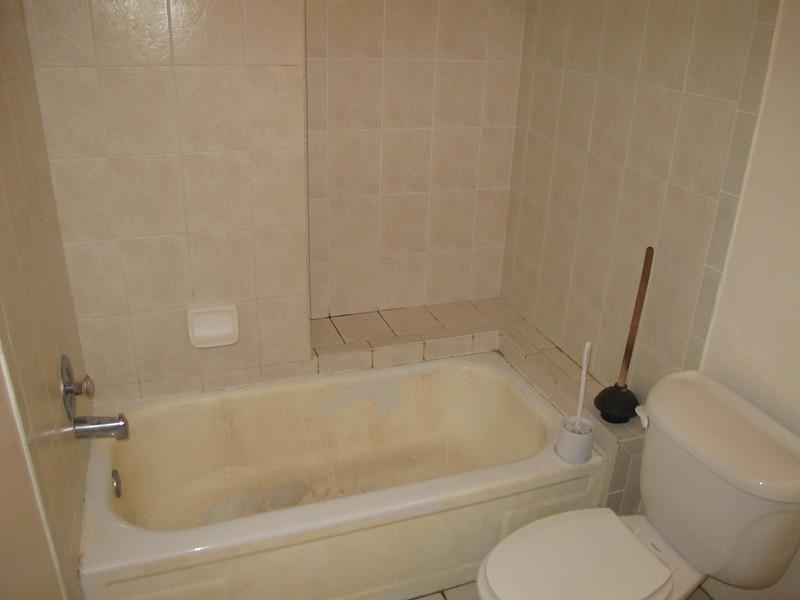 guest bath.  tub will be resurfaced