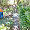 Fixing a couple of dodgy areas in the path, the big one is 2m long
