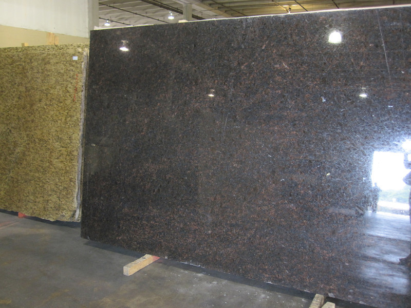 Granite slab for the kitchen countertops (perimeter)